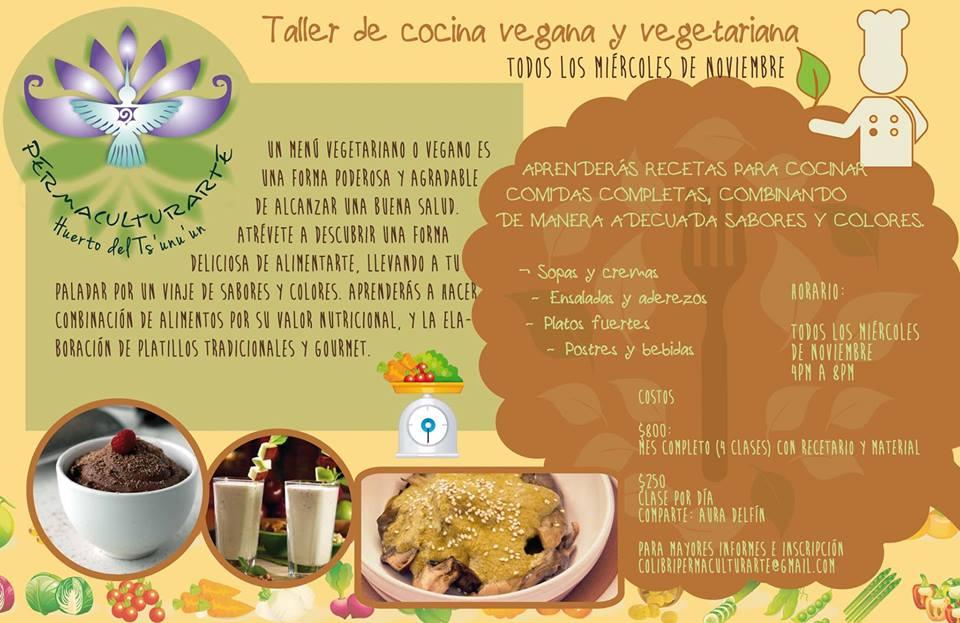Taller de cocina vegana y vegetariana - Escuela de cocina vegetariana ...