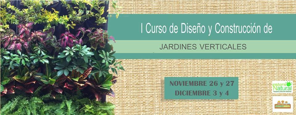 Curso de dise o y construcci n de jardines verticales for Curso de diseno de jardines