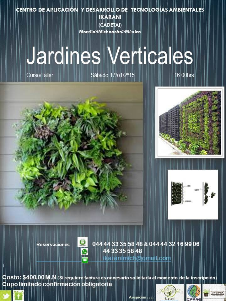 Curso de jardines verticales for Jardines verticales pdf