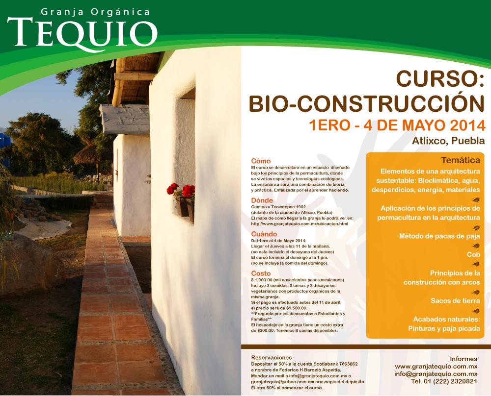 Curso de bio construcci n for Proyecto de construccion de aulas de clases