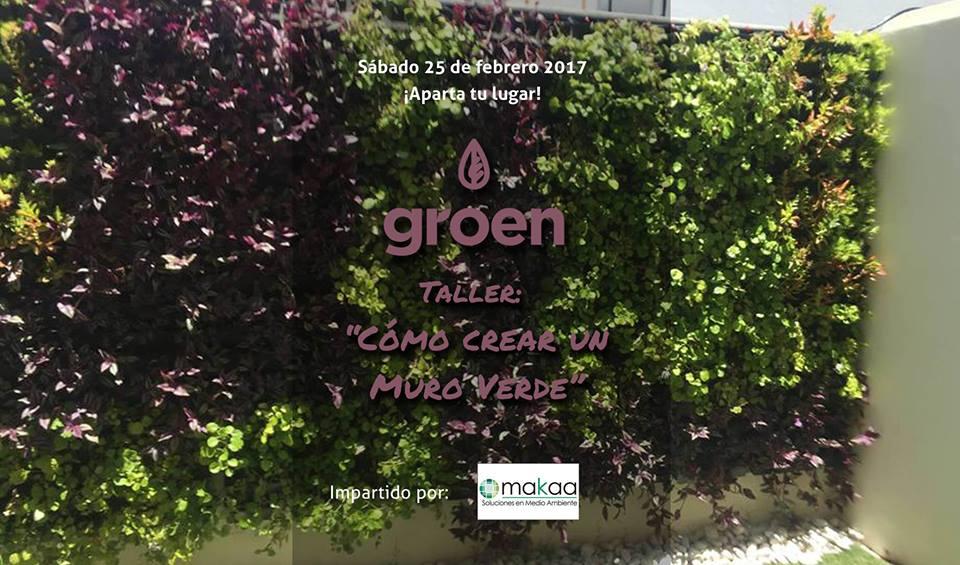 Taller como crear un muro verde - Como hacer un muro verde ...