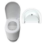 Taza WCEco® para sanitario seco con cámara con separación de líquidos