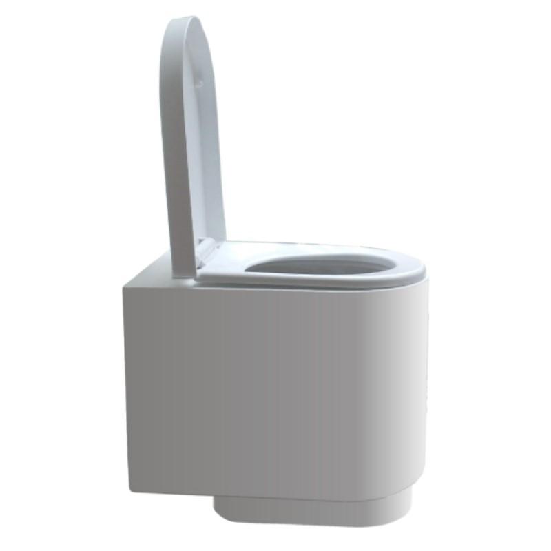 Taza WCEco® para sanitario seco con cámara sin separación de líquidos